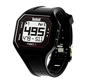 Bushnell NEO-X Golf GPS Rangefinder Watch, Black