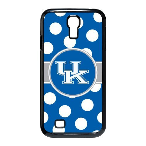 NCAA Polka Dots Design Kentucky Wildcats Logo for Samsung Galaxy S4 I9500 Durable Hard Plastic Case at Color Your Dream Mall at Amazon.com