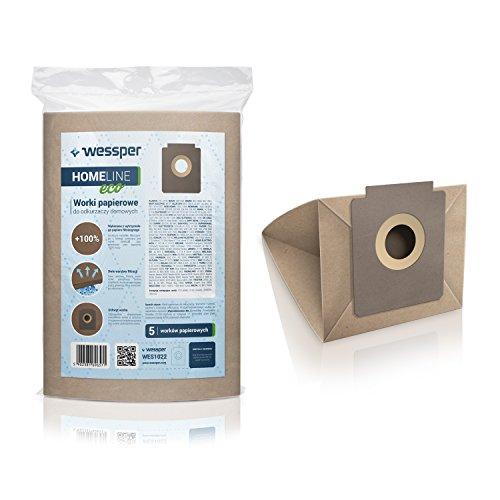 wessperr-homeline-eco-sacs-daspirateur-pour-zanussi-compact-power-1800w-5-pieces-papier