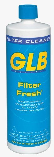 GLB Pool & Spa Products 71010 1-Quart Filter Fresh Pool Filter Cleaner (Pool Filter Cartridge Cleaner compare prices)