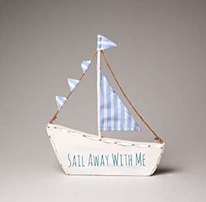 Share sail away with me boat de has been added to your basket for Boat ornaments for bathroom