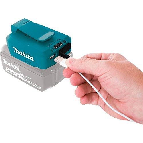マキタのバッテリーをモバイルバッテリー化するUSBアダプター(ADP05)