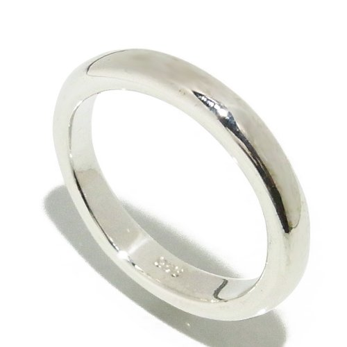 Shinjuku Silver collection simple Konan Maru slender and silver ring 5-21 issue (No. 19) [men's / women's / ring / simple / silver accessories]