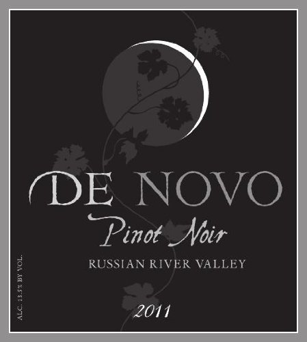 2011 De Novo Russian River Valley Pinot Noir 750 Ml