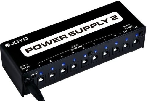 Joyo'S New And Improved Jp-02 Power Supply 2 9-18V Power Options!