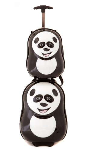 Cheri Panda Back Pack  &  Trolley Case Suitcase