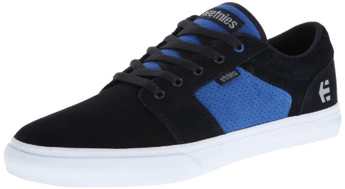 Etnies Mens Barge LS Suede Skateboarding Shoes 4101000351 Navy/Blue 5 UK, 38 EU, 6 US