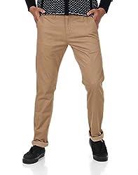 Shapes Men's Trousers (8903619198804_Khaki_34)