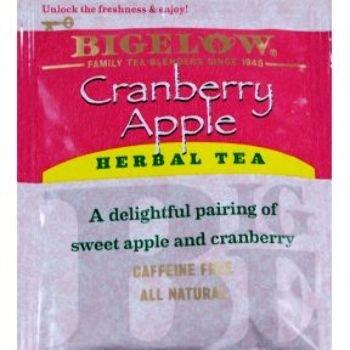 Bigelow Cranberry Apple Herbal Tea Case Pack 168