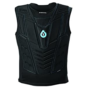 SixSixOne Moto Air Vest (Black, Small/Medium)