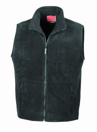 Result Active fleece bodywarmer Black S