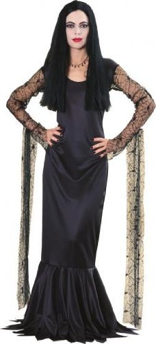 Rubies Morticia Addams Family Fancy Dress Costume Medium Size