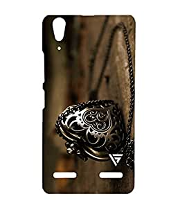 Vogueshell Old Necklace Printed Symmetry PRO Series Hard Back Case for Lenovo A6000