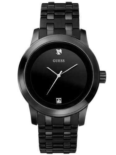 GUESS U12604G1 Round Diamond Watch