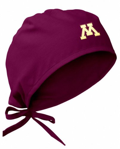 Minnesota Golden Gophers - Maroon - Scrub Cap by Gelscrubs