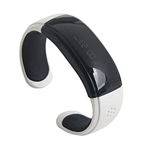 L02 Anti-lost Bluetooth Hands-free Calls Android Smart Bracelet Watch Vibrating Bluetooth Bracelet White