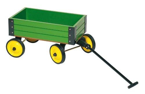 GoKi Metal Pull Along Cart (Green)