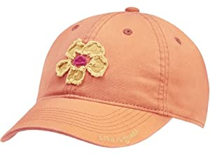 Life is good Ladies Hibiscus Tattered Chill Cap by Life is Good