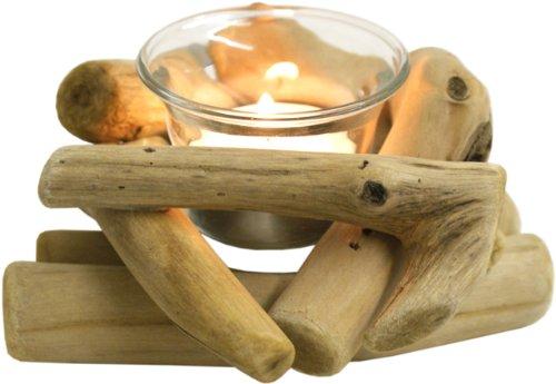 Driftwood Tealight Holder 7cm