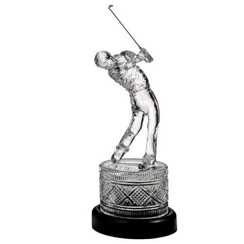 House Of Waterford Waterford Crystal Waterford Golf Large Golfer - Limited Edition Of 5
