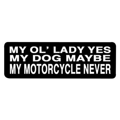 Hot Leathers Helmet Sticker -
