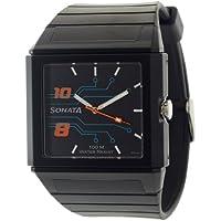 Sonata Ocean Analog Black Dial Men's Watch - NF7988PP02J