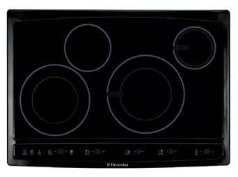 """Electrolux EW30CC55GB 30"""" Induction Hybrid Cooktop with Two Induction Elements and Power Assist, Black"""