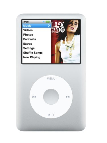 Apple iPod classic 80 GB Silver (6th Generation)
