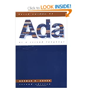 Ada As A Second Language (McGraw-Hill Series in Computer Science)