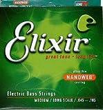 Elixir(エリクサー) エレキベース弦(.045-.105)ロングスケールNANOWEB Medium / Long Scale 14077
