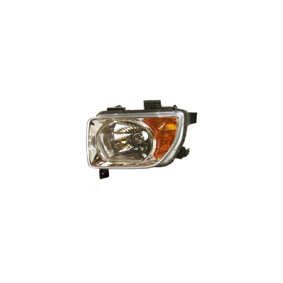 Genuine Honda Parts 33151 SCV A01 Driver Side Headlight Lens/Housing