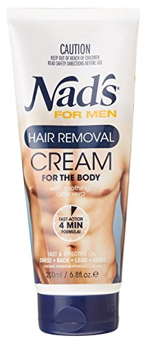 Nad's For Men Hair Removal Cream For The Body - 6.8oz (Pack of 3) (Hair Removal Male compare prices)