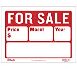 "BAZIC 9"" X 12"" For Sale Sign (2-Line) (S-2)"