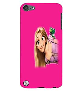 APPLE IPOD TOUCH 5 BEAUTIFUL GIRL Back Cover by PRINTSWAG