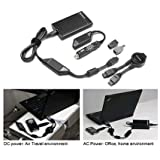 Lenovo 90W Ultraslim AC/DC Combo Adapter - Power Adapter - AC / Car / Airplane - AC 100-240/ DC 10.5-18 V - 90...