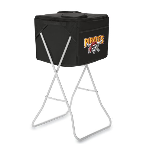 Mlb Pittsburgh Pirates Party Cube Portable Cooler With Stand front-632380