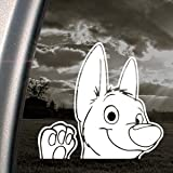 BOLT DOG Decal DISNEY Car Truck Bumper Window Sticker