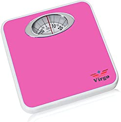 Virgo Analog Personal Health Check Up Fitness Weighing Scale (Pink)