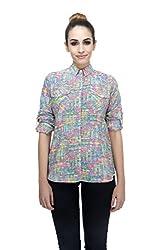 ZAIVAA Petra Printed Boyfriend Shirt