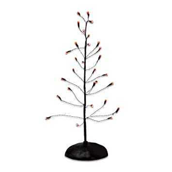 #!Cheap Department 56 Halloween Orange Twinkle Bright Tree