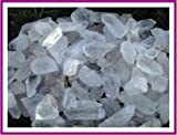 Brazilian Clear Quartz Points 5 Pounds Mixed Sizes