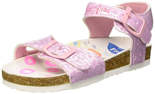 Walt Disney S15468HAZ Scarpe da neonato, Bambina, Rosa (032), 28