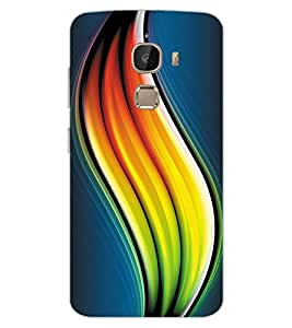 ColourCraft Colouful Absttract Design Back Case Cover for LeEco Le 2