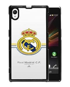 Amazon.com: Xperia Z1 phone cover,Real Madrid Black Sony Xperia Z1