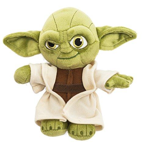 Star Wars 1400606 - Yoda Peluche in Unique Velboa, 17 cm