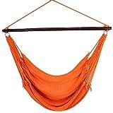 Jumbo Caribbean Hammock- Orange