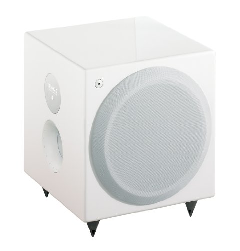 triangle meteor 0 1 tc subwoofer 100 w blanc brillant caissons de basse. Black Bedroom Furniture Sets. Home Design Ideas