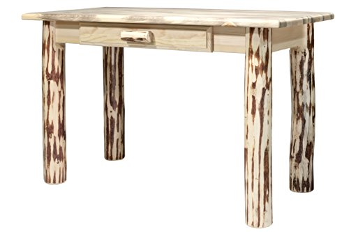 Montana Woodworks Mwdlwv Collection Writing Desk, Clear Lacquer Finish
