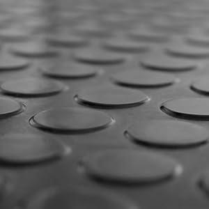 7m² Noppenmatte | 1,50m x 4,67m | Stärke 3mm | Farbe schwarz  BaumarktKundenbewertung: