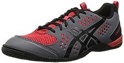 Asics Men\'s Gel-Fortius TR Training Shoe,Graphite/Black/True Red,11 M US
